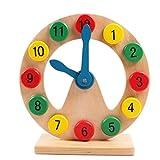 Demarkt Holzform Sortierung Uhr Lehre Uhren Digital Pädagogisches Spielzeug Einfache