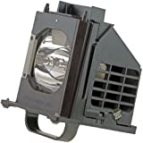 WOWSAI 915B403001 TV Replacement Lamp in Housing for Mitsubishi WD-73735, WD-73736, WD-73737, WD-73835, WD-73837 Televisions