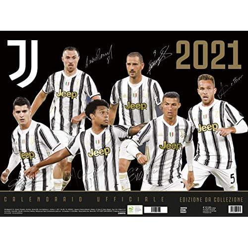 Calendario Juventus 2021 cm 44x33 - prodotto ufficiale