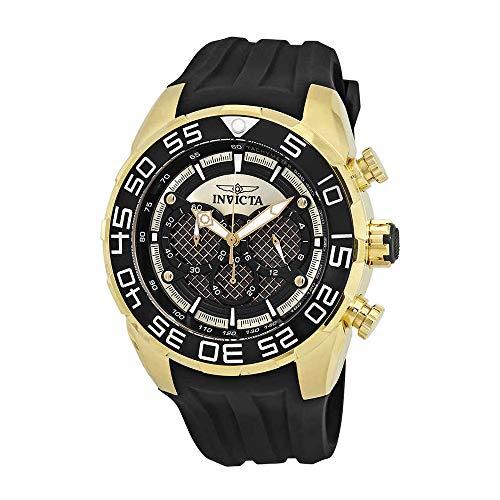 Invicta Speedway 26301 - Reloj cronógrafo para Hombre, Esfera Negra
