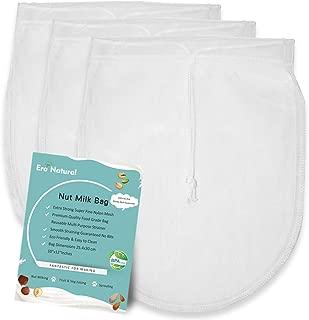 Nut Milk Bag Reusable 3 Pack 12