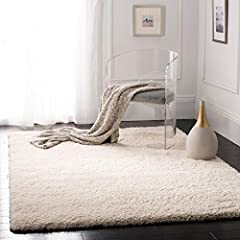 Safavieh's #1 selling shag rug Amazon's highest reviewed shag area rug with 6,000+ reviews Now available in over 20 different fashionable colors; Backing: Jute; Pile height: 50 millimeter Plush texture with a cozy and luxuriously thick 2 inch pile he...