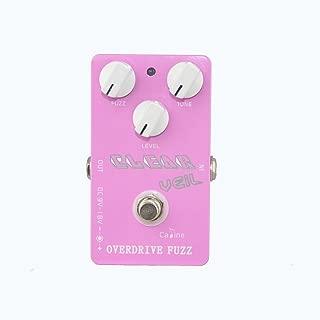 Caline USA CP-32 Clear Veil PINK Overdrive Fuzz Guitar Effect Pedal