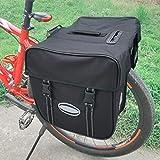 Bolsa de almacenamiento para asiento trasero extensible resistente al desgaste para bicicletas al aire libre Oferta conveniente y duradera Compartimentos principales espaciosos para usos al