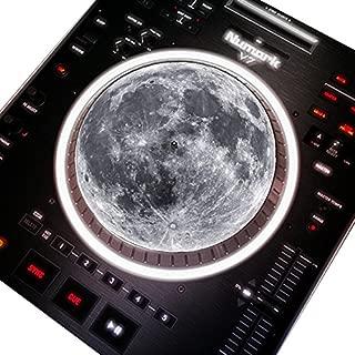 Full Moon DJ Turntable 7 Inch Slipmat