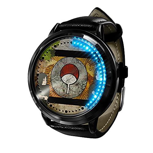 El Nuevo Reloj de animación Femenino de Naruto está Hecho de Cuarzo de animación de Acero Inoxidable.-D