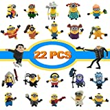 Action Figures, Anime Figures, LEMBO DIRECT 22 PCS Film Characters Action Figures Pack - Cartoon Movie Mini PVC Figure Toy Playset for Decoration, Gift, Collection, Kids