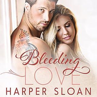 Bleeding Love audiobook cover art