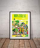 Rac76yd Montreal Montreal Reiseposter Montreal Poster