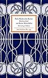 Briefwechsel mit Rainer Maria Rilke - Rainer Stamm
