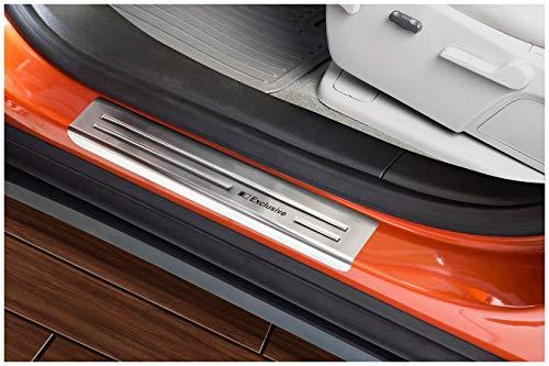 tuning-art EX113 Edelstahl Einstiegsleisten Set