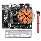 Scheda madre per PC desktop a 4 core, scheda audio completamente integrata, scheda di rete 100M, scheda grafica GMA4500, con processore Intel E / L5430, multi-threading quad-core, configurazione stand