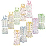 "100%Cotton Specially for New born babies 0-1Year Top size chest 10"" height 11.5"" bottom size hip 6.5"" height 6.5"""