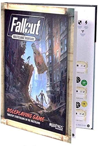 Modiphius Entertainment Fallout Wasteland Warfare Core Rulebook RPG for Adults, Family and Kids 13 Years Old and Up (Licensed RPG)