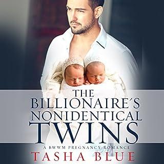 The Billionaire's Nonidentical Twins: A BWWM Pregnancy Romance audiobook cover art