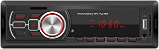 WINOMO Bilstereo FM radio MP3 ljudspelare högtalare stöder handsfree-samtal med USB U-diskport 12 V
