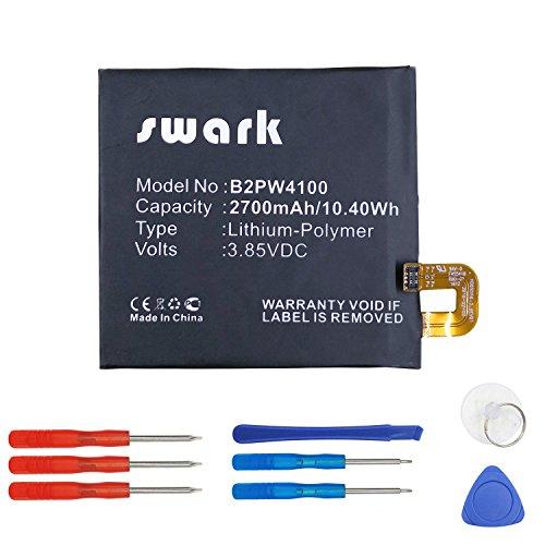 Swark Li-Polymer Akku B2PW4100 Kompatibel mit Google Nexus S1, Nexus S1 Global TD-LTE, Pixel, Google : 35H00262-00M