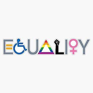 "Equality Sticker Sticker Vinyl Bumper Sticker Decal Waterproof 5"""