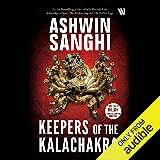 Keepers of the Kalachakra audiobook cover art
