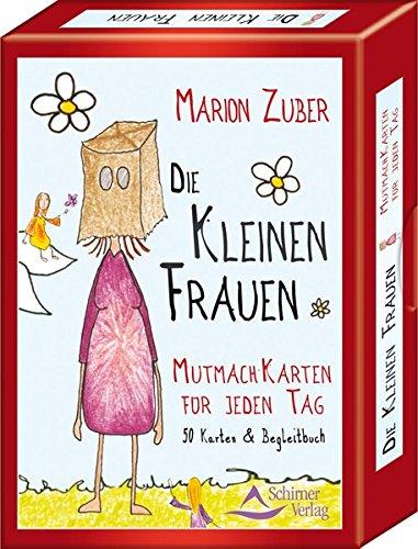Die kleinen Frauen: Mutmach-Karten für jeden Tag - 50 Karten & Begleitbuch: 50 Karten und Begleitbuch