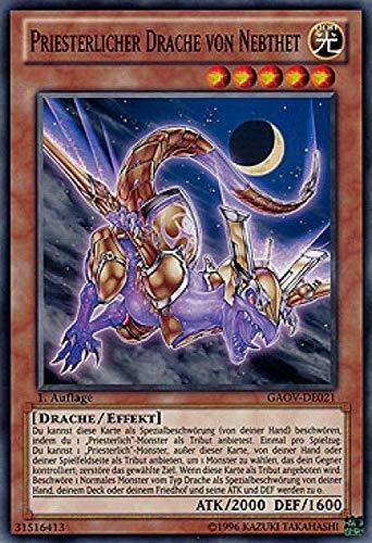 Konami GAOV-DE021 Priesterlicher Drache von Nebthet