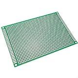BeMatik - Panello PCB di prototipo di Circuito Stampato per Saldatura bifacciale 8x12cm