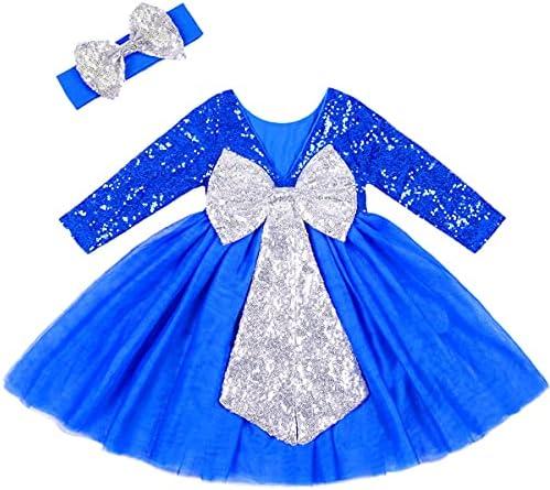 Childrens blue dress _image3