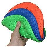 SchwabMarken Weiche Hunde Frisbee/Dog Frisbee Disc, 1 Stück, bunt gemischt, Durchmesser ca. 23 cm Mengen