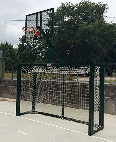 Softee–Set Fußballtor f. Sala/Handball–Korb Basket
