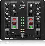 Behringer Pro Mixer VMX100USB 2-Kanal DJ Mixer mit integriertem USB