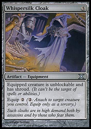 Magic The Gathering - Whispersilk Cloak - Manto Setabisbiglio - Tenth Edition
