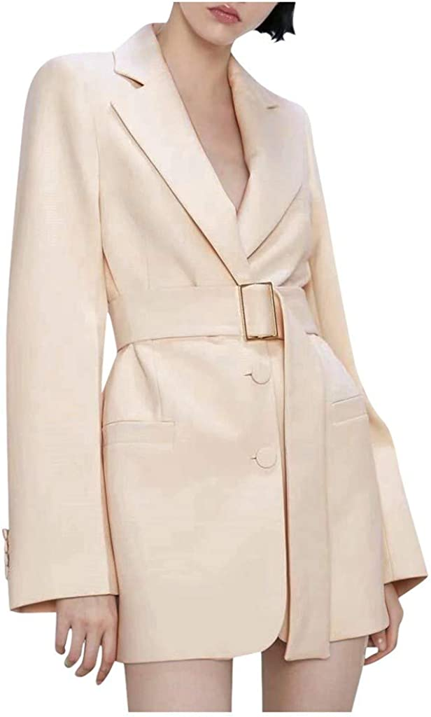 Business Casual Clothes for Women, NRUTUP Tweed Office Blazer, Business Suits for Work, Elegant Casual Blazer Jacket