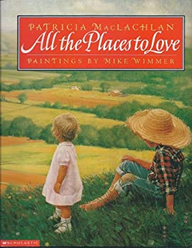 Paperback All the places to love Book