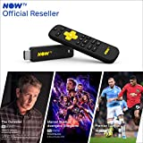 NOW TV Smart Stick with 1 month Entertainment Pass, 1 month Sky Cinema Pass + Sky Sports Day Pass | HD Streaming Media Player Watch YouTube, Netflix, BBC iPlayer and more