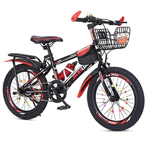 ZSH Kinder-Fahrrad, Junges Mädchen Kinder Kinder Kind Fahrrad Fahrrad 2 Farben, 18