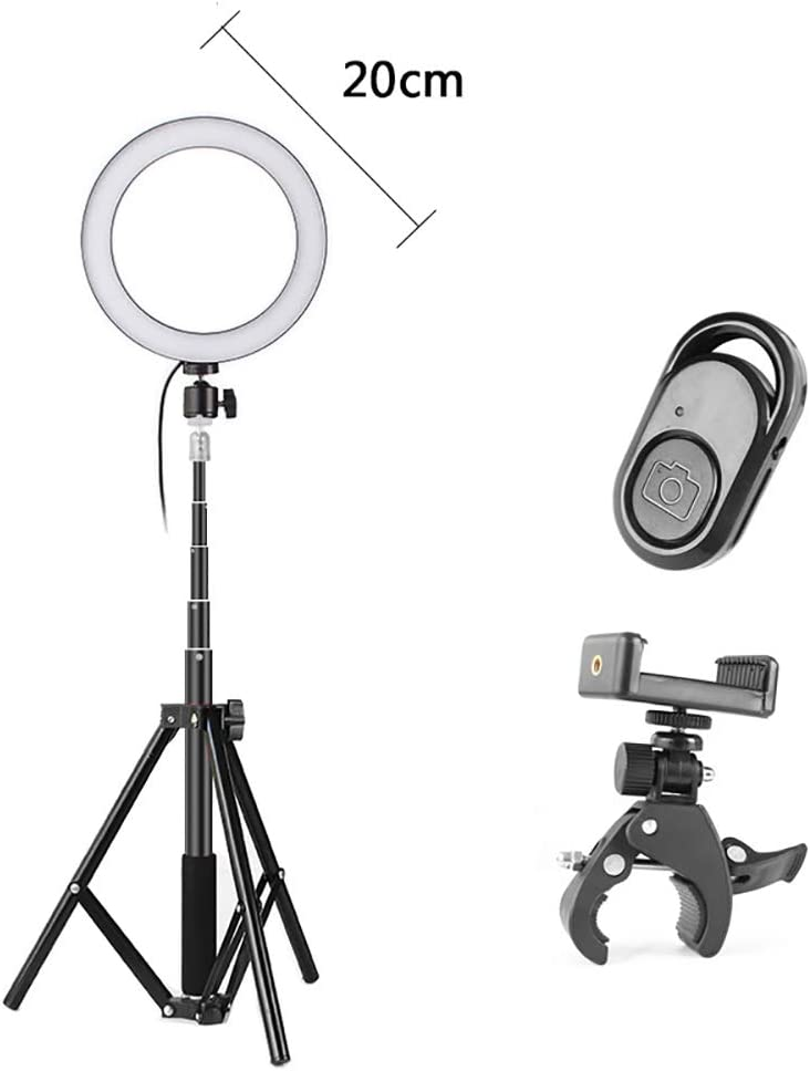FGAITH Ring Lighting Floor Fill Light Makeup Mirror Light Photography Light Professional Flash Bracket Three-Speed Adjustment Lighting Multifunction