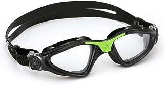 e09e6160d Óculos de Natação Aqua Sphere Kayenne Preto e Verde Lente Transparente