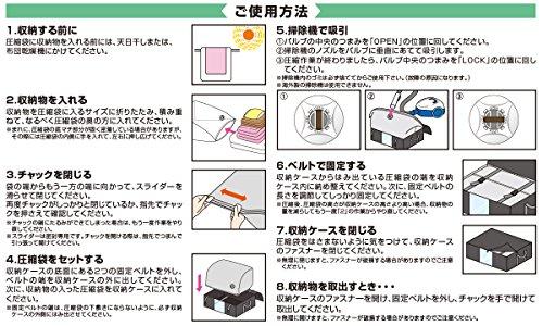 ワイズコーポレーション圧縮プラス『圧縮プラスブラックふとん一式用3個セット』