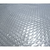 Blue Wave NS520 14-mil Solar Blanket, 16-ft W x 32-ft L x 0.5-in H, Clear