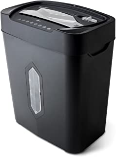 Aurora AU1230XA Anti-Jam 12-Sheet Crosscut Paper and Credit Card Shredder with 5.2-gallon..