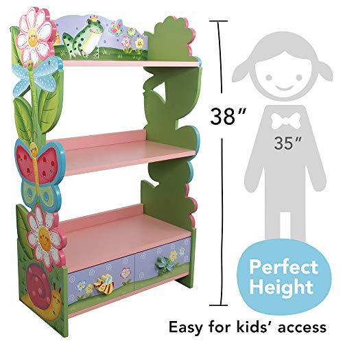 Fantasy Fields KinderMagic Garden KidsHolz-Bücherregal - 4