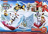PAW Patrol Adventskalender mit Sammelfiguren und Winterlandschaft