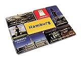 City Souvenir Shop Magnetset Hamburg, 7-teilig