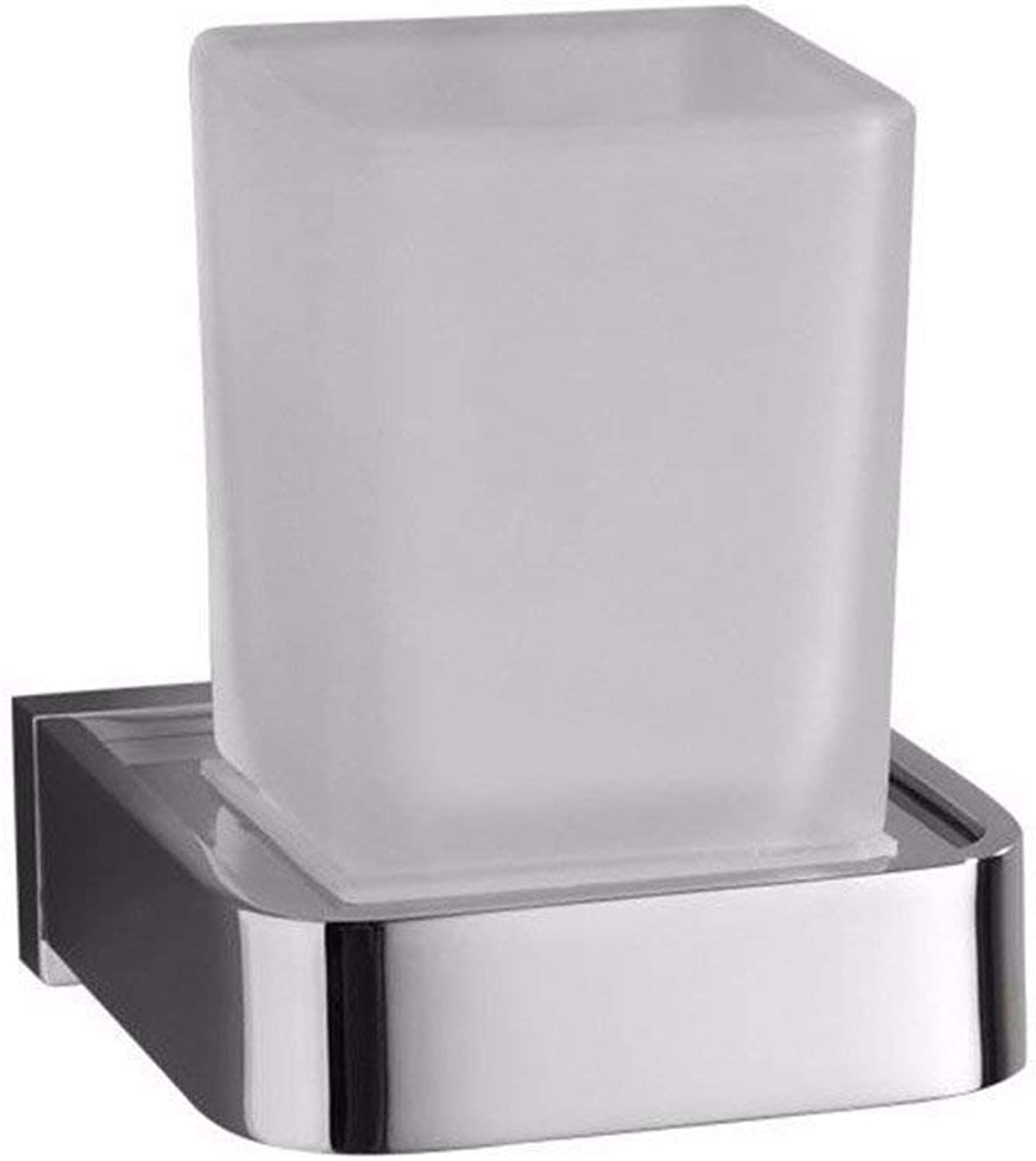 All Europeans Chromium Copper Accessories of Bathroom Respond to Hook Suspension for Cup-Holder,a Toothbrush only Cup
