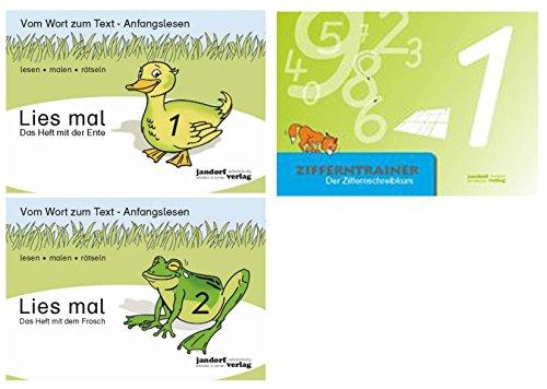 Lies mal 1 Ente, 2 Frosch, Zifferntrainer