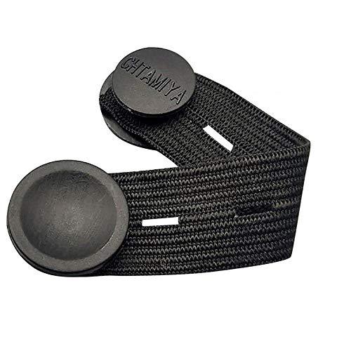 3PCS Ear Griffverlängerung Elastic Einstellbarer Maskenband Extender-Ohr-Bügel-Schnalle Anti-Rutsch-Seil-Halter Zubehör for Männer Frauen (Color : Schwarz, Size : 3pcs)