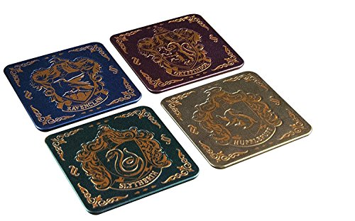 Set de 4 Dessous de Verre - Harry Potter - Ecusson Poudlard