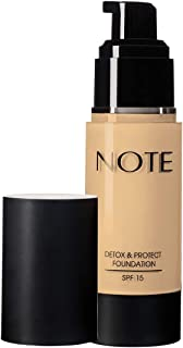 Note Detox And Protect Foundation 02 - Natural Beige