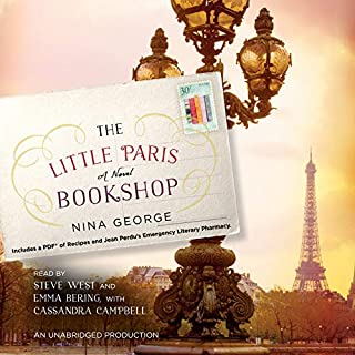 The Little Paris Bookshop audiobook cover art