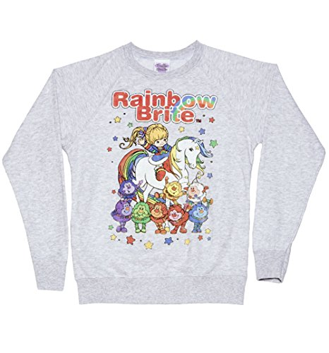 Rainbow Brite with Starlite and Sprites Sweatshirt for Women, S, M, L